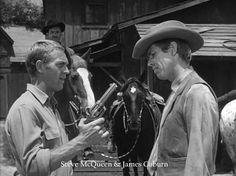 Steve McQueen & James Coburn