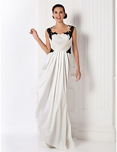 TS+Couture®+Prom+/+Formal+Evening+/+Military+Ball+Dress+-+Beautiful+Back+/+Vintage+Inspired+Plus+Size+/+Petite+Sheath+/+Column+Sweetheart+Floor-length+–+ILS+₪+2,049.20