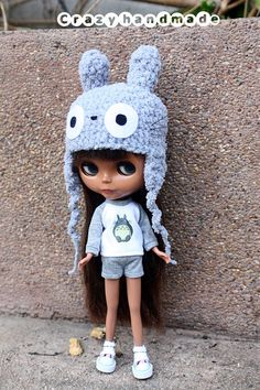 Blythe Outfits Tshirt and shorts by nubanded on Etsy