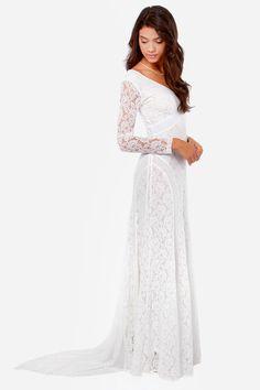 f8469907154 A Moment Like Bliss White Lace Dress