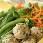 Chicken Caesar Meatballs