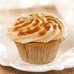 Caramel Macchiato Cupcakes from Pillsbury Baking