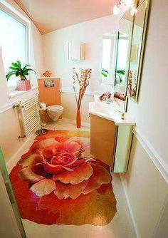 Contemporary Flooring Ideas, Decorative Self Leveling Floor