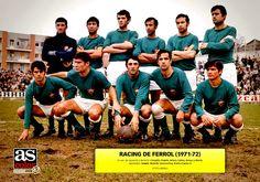 EQUIPOS DE FÚTBOL: RACING DE FERROL en la temporada 1971-72