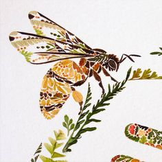 Delicate Animals Illustrations Made from Pressed Leaves – Fubiz Media