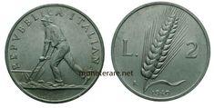 2 Lire: Valore, Curiosità e Rarità delle Monete da 2 Lire Italiane   MoneteRare.net Lus, Coin Collecting, Coins, Personalized Items, Italian Lira, Rooms