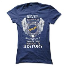 The Power Of A Woman Who Majored In History - #tshirt #sweatshirt upcycle. SIMILAR ITEMS => https://www.sunfrog.com/LifeStyle/The-Power-Of-A-Woman-Who-Majored-In-History-Ladies.html?68278