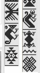 View album on Yandex. Bead Loom Patterns, Crochet Stitches Patterns, Weaving Patterns, Embroidery Patterns, Cross Stitch Patterns, Knitting Patterns, Inkle Weaving, Inkle Loom, Card Weaving