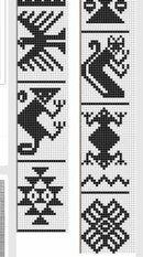 View album on Yandex. Bead Loom Patterns, Crochet Stitches Patterns, Weaving Patterns, Crochet Chart, Embroidery Patterns, Cross Stitch Patterns, Knitting Patterns, Inkle Weaving, Inkle Loom