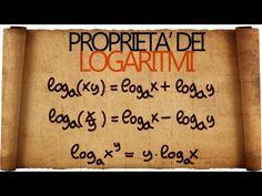 Logaritmi : Definizione di logaritmo ed introduzione alle funzioni logaritmiche - YouTube