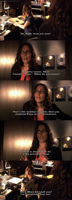 The L Word S3- Alice is having a hard time getting over Dana :(