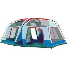 Giga Tent Barren Mt. 12' x 18' Family Cabin Tent, Sleeps 8-10