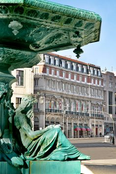 Avenida Palace Hotel, Lisbon, Portugal (View from Rossio Square)