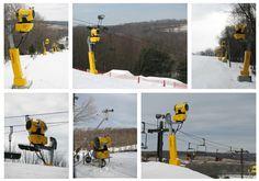 Clearfork Ski Resort's New Techno-Alpin Snowmaking System