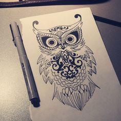 stylization owls by Rino483.deviantart.com on @deviantART