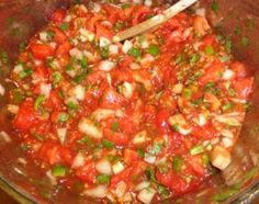 This is a great salsa recipe! there's nothing like cracking open a jar of homemade salsa made from in. Canned Mild Salsa Recipe, Ball Canning Salsa Recipe, Tomato Salsa Canning, Homemade Canned Salsa, Salsa Canning Recipes, Canned Salsa Recipes, Best Salsa Recipe, Mexican Salsa Recipes, Fresh Tomato Recipes