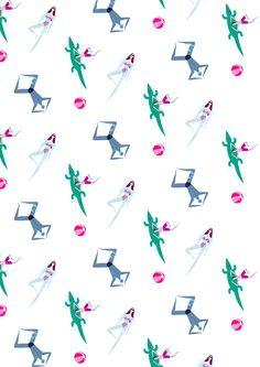 Emmanuelle Walker #illustration #pattern