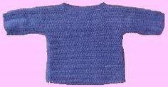 Free Crochet Pattern: World's Easiest Sweater From www.allfreecrochet.com