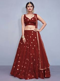 Royal blue lehenga choli with dupatta. The lehenga comes as stitched in Size and can be extended up to Size To complete the look matching Party Wear Lehenga, Indian Lehenga, Silk Lehenga, Indian Bollywood, Royal Blue Lehenga, Black Lehenga, Banarsi Saree, Bollywood Style, Silk Dupatta