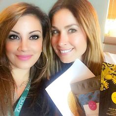 Repost from @shalinivadhera Talking all things @passport_beauty with the gorgeous @heatherhalltv. Exciting things in the works! ✨ #beauty #business #makeup #makeupartist #crystals #beautyblogger #p2b #passport2beauty #passporttobeauty #convention #beautyblogger #beautyindustry