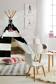 Ride on Llama from Crate and Barrel