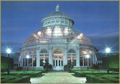 New York Botanical Garden, Bronx (NY) -  Enid A. Haupt Conservatory, largest U.S. Victorian glasshouse