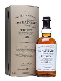 THE BALVENIE 30 YEARS OLD SPEYSIDE SINGLE MALT   VINTAGES 665091 | 700 mL bottle     Price $ 702.95     Made in: Scotland, United Kingdom   By: Wm. Grant & Sons Ltd     Release Date: N/A     Spirits, Whisky/Whiskey, Single Malt Scotch  47.0% Alcohol/Vol.