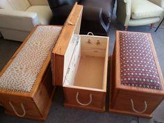 Baul Botinera Mueble Madera Maciza Decoración Con Garantía - $ 2.450,00 en Mercado Libre