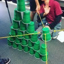 Atividade de Team Building: Tower of Cups
