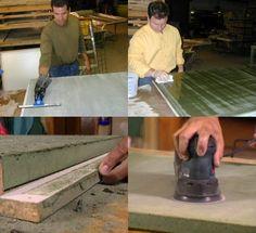 Eine Betonarbeitsplatte können Sie selber herstellen Anleitung ...