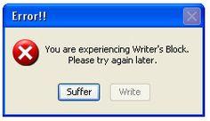 Fighting Back Against Writer's Block #writersblock