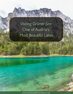Learn about visiting the beautiful Grüner See/ Green Lake in Styria, Austria. Including how to get there, what the lake is like and a restaurant suggestion. #grunersee #austria #europe #landscape #travel #destination #austrian #lake #scenic #vacation #holiday #Natgeotravel #Traveltheworld #bucketlists #luxurytravel #travellife#traveladdict #wanderlust Backpacking Europe, Europe Travel Tips, Travel Goals, Travel Destinations, Travel Info, Travel Stuff, Travel Ideas, Visit Austria, Austria Travel