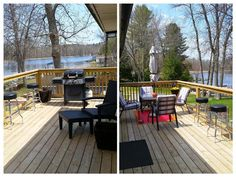 Enjoy time with your family and friends in this newly renovated waterfront location, just hours North East from the GTA. Cottage Rentals, Patio, Outdoor Decor, Home Decor, Decoration Home, Room Decor, Home Interior Design, Home Decoration, Terrace
