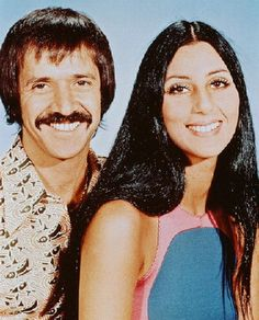 Sonny and Cher. rip, Sonny Bono.