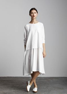 kowtow - 100% certified fair trade organic cotton clothing - In the Shadows Dress