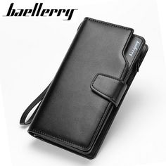 09993e225 Baellerry Men wallets Casual Wallet Long Men Purse Clutch bag Brand Leather  Wallet Credit Card Holders Gift For Men-in Wallets from Luggage & Bags on  ...