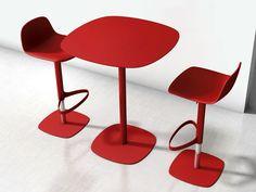 Lacquered high table CLYDE by Bonaldo | design Gino Carollo