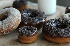 Baked Pumpkin Spice Doughnuts - Life Made Simple