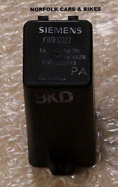 GENUINE ROVER 400 45 MG ZS YWB10122 RELAY AIR CON HEATER RELAY Click Photo, My Ebay, Honda, Shop