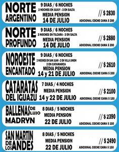 Argentina nos Espera! Buscá tu destino!