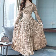 Indian Gowns Dresses, Indian Fashion Dresses, Women's Dresses, Stylish Dresses, Nice Dresses, Casual Dresses, Long Gown Dress, Long Sleeve Tunic Dress, Boho Dress