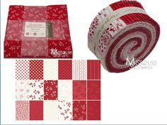 What does everyone think of Red work Renaissance by Chloe's Closet for Moda Fabrics?  #quilt, #fabric, #moda, #red
