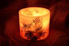 ΧΕΙΡΟΠΟΙΗΤΟ ΚΕΡΙ  ΚΕΝΟ ΜΕ ΦΥΣΙΚΟ ΦΥΛΛΩΜΑ  20 X 12 cm via ΕΡΓΑΣΤΗΡΙΟ  ΚΕΡΙΩΝ. Click on the image to see more! Pillar Candles, Candles