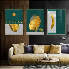Wall Art – Page 2 – Wall Art Accents Abstract Wall Art, Canvas Wall Art, Canvas Prints, Types Of Art Styles, Art Pages, Picture Wall, Wall Art Decor, Plant Leaves, Botany