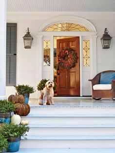 Upgrade the Front Door | 11 Ways to Boos Curb Appeal | Better Homes and Gardens  #Entry #Home  #Irvine #RealEstate ༺༺  ❤ ℭƘ ༻༻ IrvineHomeBlog.com
