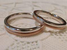 ふたつでひとつになる結婚指輪ラコッピア。 [marriage,wedding,ring,bridal,K18,Pt900,マリッジリング,結婚指輪,オーダーメイド,コンビカラー,ウエディング,ith,イズマリッジ]