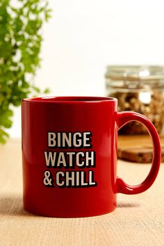 Binge Watch & Chill Mug | Urban Outfitters
