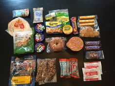 4 day/3 night backpacking food list | blisters and bug bites