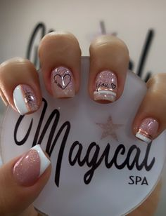 May Nails, Nails Only, Love Nails, Pink Nails, Pretty Nails, Manicure Nail Designs, Acrylic Nail Designs, Best Acrylic Nails, Dream Nails