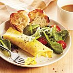 Classic French Omelet Recipe | Pull the pan off the heat as needed, while stirring, to control how fast the eggs cook. The finished omelet should be golden outside and unbrowned, while still creamy at the very center.